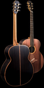 The Baritone Fan Fret Guitar Back