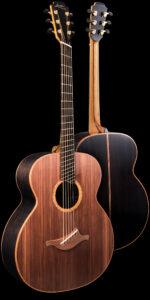 The Baritone Fan Fret Guitar Front